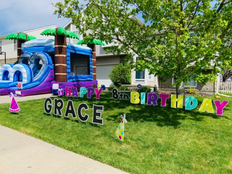 Happy Birthday Yard Signs
