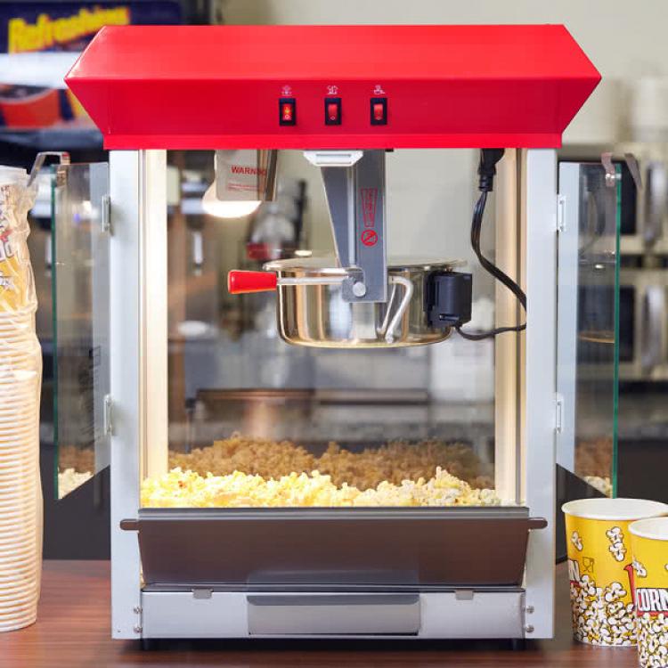Popcorn Machine - 120V, 850W