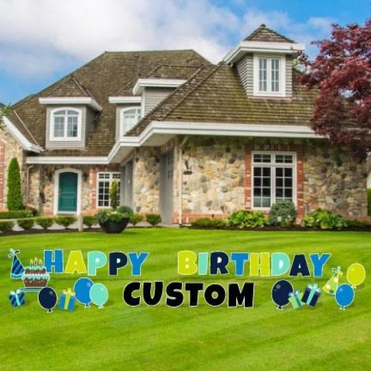 Happy Birthday Custom (Boy)