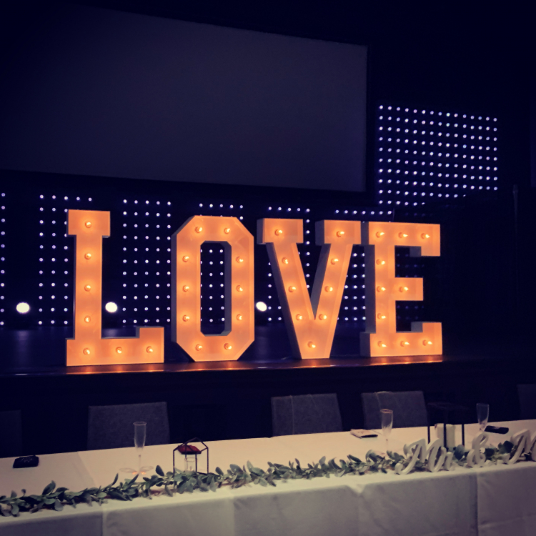 Marquee LOVE Letters