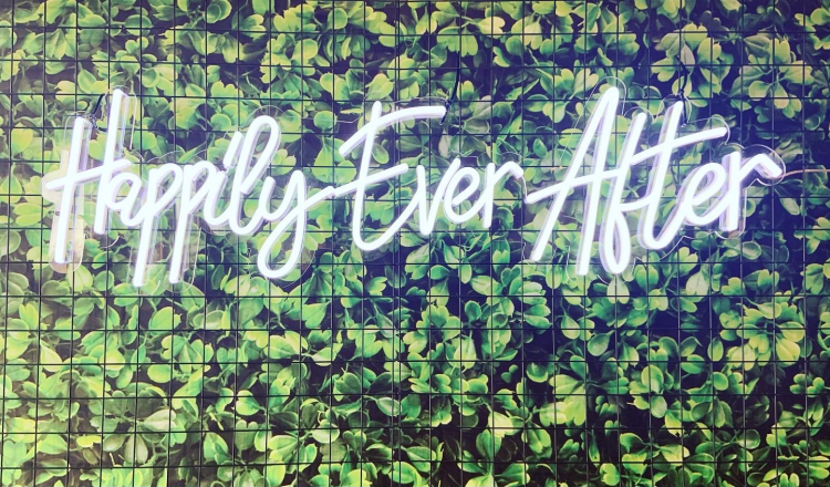 Happily Ever After neon rental