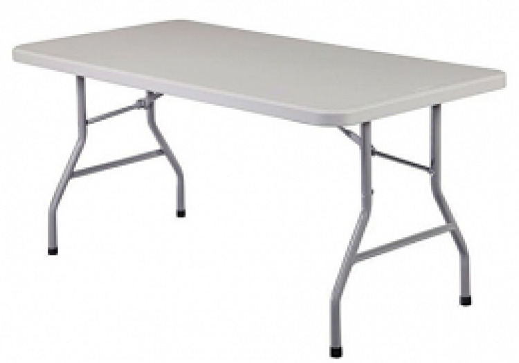 8' Banquet Table (White)